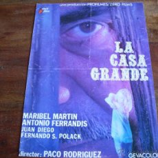 Cine: LA CASA GRANDE - ANTONIO FERRANDIS,MARIBEL MARTIN,JUAN DIEGO - GUIA ORIGINAL. Lote 43426240