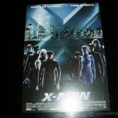 Cine: X-MEN. GUIA PUBLICITARIA SENCILLA. ORIGINAL. NUEVO.. Lote 172964084