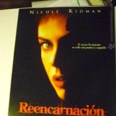 Cine: GUIA 8 PAG. REENCARNACION .-NICOLE KIDMAN. Lote 44019561