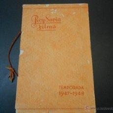 Cine: CATALOGO ORIGINAL REY SORIA FILMS - TEMPORADA 1947-48. Lote 44087126
