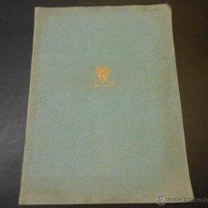 Cine: CATALOGO ORIGINAL RADIO FILMS - TEMPORADA 1935-36. Lote 44087483