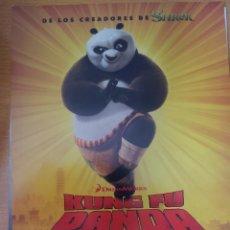Cine: KUNG FU PANDA 2. GUIA PUBLICITARIA.. Lote 44339916