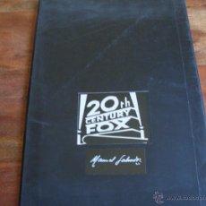 Cine: CATALOGO DE 20 TH CENTURY FOX ( MANUEL SALVADOR ) AÑO 1993. Lote 44372877