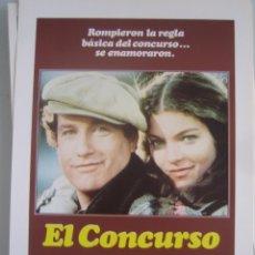 Cine: EL CONCURSO RICHARD DREYFUSS AMY IRVING GUIA PUBLICITARIA ORIGINAL ESTRENO. Lote 44841371
