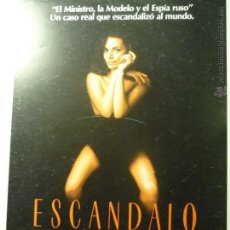 Cine: GUIA DOBLE ESCANDALO .- CHRISTINE KEELER. Lote 44928233