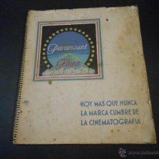 Cine: CATALOGO ORIGINAL PARAMOUNT - TEMPORADA 1933-34. Lote 45036514