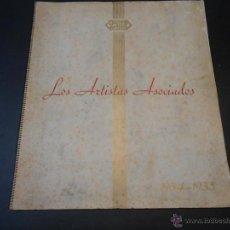 Cine: CATALOGO ORIGINAL UNITED ARTISTS - TEMPORADA 1934-35. Lote 45042365