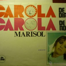 Cine: GUIA DESPLEGABLE CAROLA DE DIA CAROLA DE NOCHE.-MARISOL BB. Lote 45103983