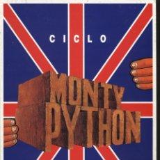 Cine: P-10052- CICLO MONTY PYTHON (DOBLE). Lote 45335692