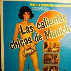 Cine: GUIA DOBLE LAS CALIENTES CHICAS DE MUNICH .- PELICULA S--BB. Lote 45550162