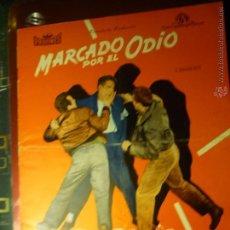 Cine: GUIA 12 PAG. MARCADO POR EL ODIO.-PAUL NEWMAN -BB. Lote 45550888