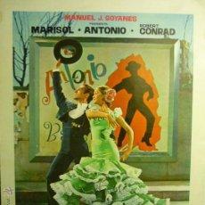 Cine: GUIA DOBLE LA NUEVA CENICIENTA --MARISOL-ANTONIO. Lote 45554482