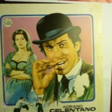 Cine: GUIA EL GUAPO .- ADRIANO CELENTANO. Lote 45561784