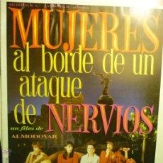 Cine: GUIA MUJERES AL BORDE DE UN ATAQUE DE NERVIOS.-CARMEN MAURA-A.BANDERAS. Lote 45562045