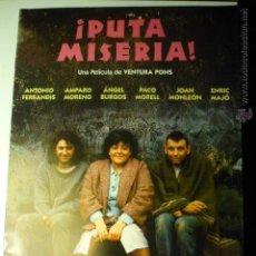 Cine: GUIA 8 PAG.PUTA MISERIA .- ANTONIO FERRANDIS. Lote 46113839