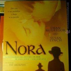 Cine: GUIA TRIPTICO NORA- EWAN MCGREGOR. Lote 46187186