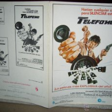 Cine: TELEFONO CHARLES BRONSON GUIA ORIGINAL Q. Lote 47656899