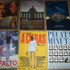 Cine: 6 CARPETAS CINE ESPAÑOL ORIGINALES Q. Lote 46614116