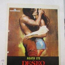 Cine: DESEO CARNAL. Lote 46971371
