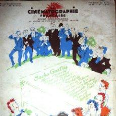 Cine: PRECIOSO LIBRO ILUSTRACIONES CINEMATOGRAPHIE FRANÇAISE . CINE FRANCES . 1939 PELICULAS COLON CARMEN. Lote 46991789