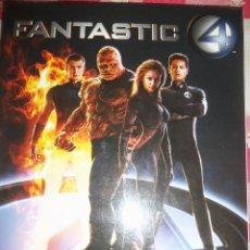 Cine: FANTASTIC 4 - THE MAKING OF THE MOVIE - TITAN BOOKS - 2005 - USA - PARA FANATICOS! NUEVO! RARO!. Lote 47007592