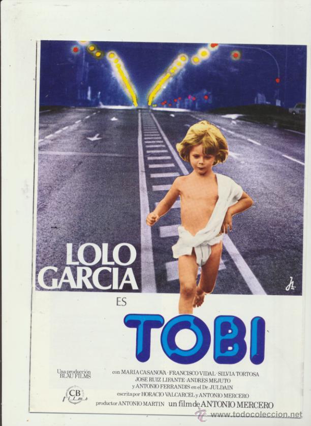 TOBI. GUÍA DE CB FILMS. (10 PÁGINAS) (Cine - Guías Publicitarias de Películas )