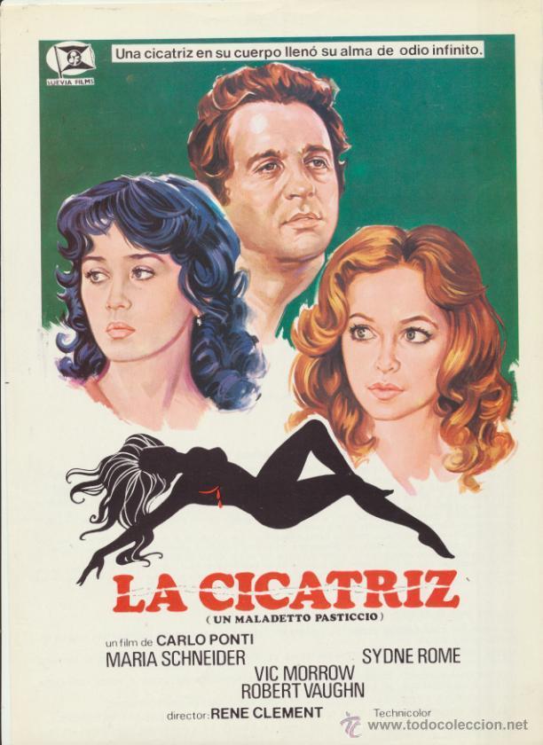 LACICATRIZ. GUÍA DE SUEVIA FILMS. (Cine - Guías Publicitarias de Películas )