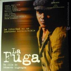 Cine: GUIA LA FUGA .-. Lote 47317670