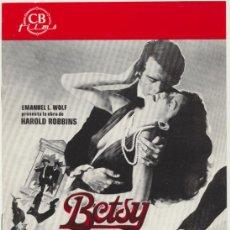 Cine: BETSY. GUÍA DE CB FILMS.. Lote 47341874