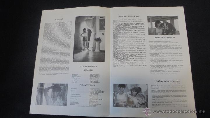 Cine: GUIA PUBLICITARIA DE LA PELICULA ANGEL 2. - Foto 2 - 47497958