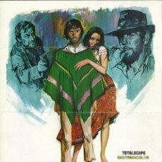 Cine: CHACO (1972) GUÍA PUBLICITARIA ORIGINAL ESPAÑA. Lote 47591379