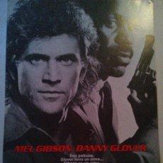 Arma Letal 1. Mel Gibson y Danny Glover