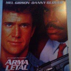 Arma Letal 2. Mel Gibson y Danny Glover