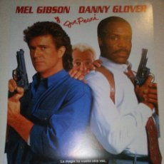Arma Letal 3. Mel Gibson y Danny Glover