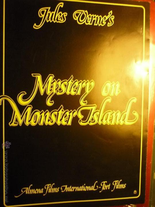 GUIA 8 PAG.MISTERIO EN LA ISLA DE LOS MONSTRUOS-PETER CUSHING-- BB (Cine - Guías Publicitarias de Películas )
