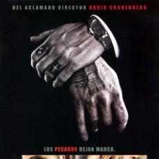 Cine: PROMESAS DEL ESTE (GUIA ORIGINAL 4 PAGINAS CON FOTOS) VIGGO MONTENSEN - NAOMI WATTS. Lote 179323678