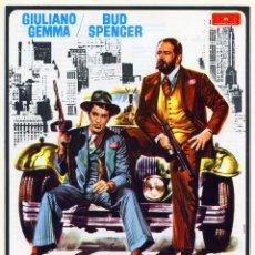 Cine: TAMBIEN LOS ANGELES COMEN JUDIAS ( GUIA ORIGINAL SIMPLE DE SU ESTRENO ) GIULIANO GEMMA - BUD SPENCER. Lote 172412687