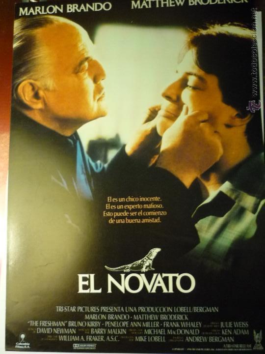 GUIA EL NOVATO .- MARLON BRANDO (Cine - Guías Publicitarias de Películas )