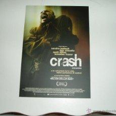 Cine: CRASH. GUIA PUBLICITARIA SENCILLA. ORIGINAL. MAGNIFICO ESTADO.NUEVO.. Lote 277191528