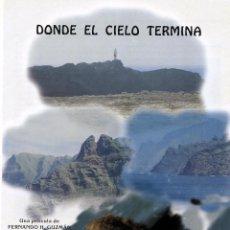 Cine: DONDE EL CIELO TERMINA (GUIA ORIGINAL DEL ESTRENO EN ESPAÑA CON FOTOS). Lote 143394426