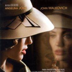 Cine: EL INTERCAMBIO (GUIA ORIGINAL 4 PAGINAS ESTRENO EN ESPAÑA CON FOTOS) ANGELINA JOLIE - CLINT EASTWOOD. Lote 128389292