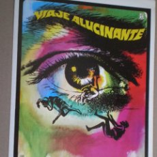 Cine: VIAJE ALUCINANTE // GUIA DOBLE 1978 // RAQUEL WELCH RICHARD FLEISCHER // SCI-FI // FANTASTIC VOYAGE. Lote 49058231