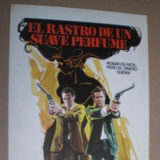 Cine: EL RASTRO DE UN SUAVE PERFUME // GUIA SENCILLA 1975 // BILL COSBY ROBERT CULP. Lote 49059245