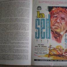 Cine: IRIS FILMS // BOLETIN INFORMATIVO Nº 170 FEBRERO 1963 // CON PUBLICIDAD DE: LA SED. Lote 49062151