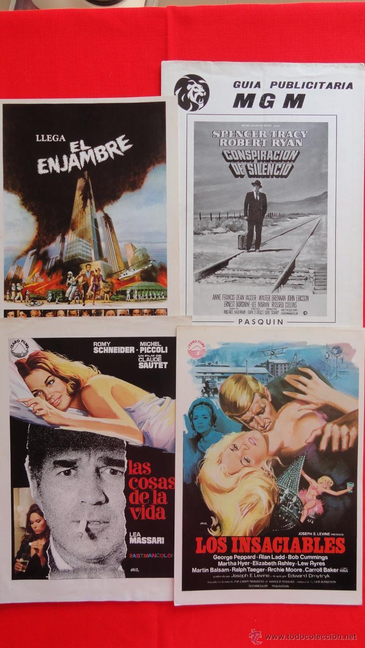 Cine: Lote 15 guías variadas,diferentes temáticas suspense, terror, acción, principalmente años 70. Lgui15 - Foto 3 - 49953527