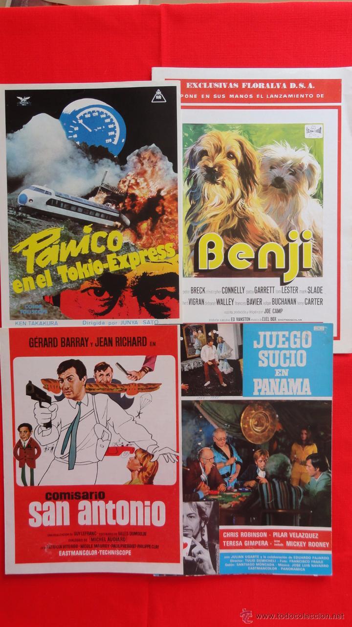 Cine: Lote 15 guías variadas,diferentes temáticas suspense, terror, acción, principalmente años 70. Lgui15 - Foto 4 - 49953527
