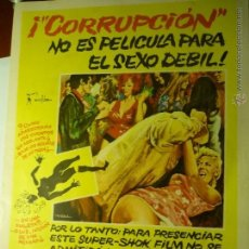 Cine: GUIA DOBLE CORRUPCION .-PETER CUSHING--BB. Lote 49966315