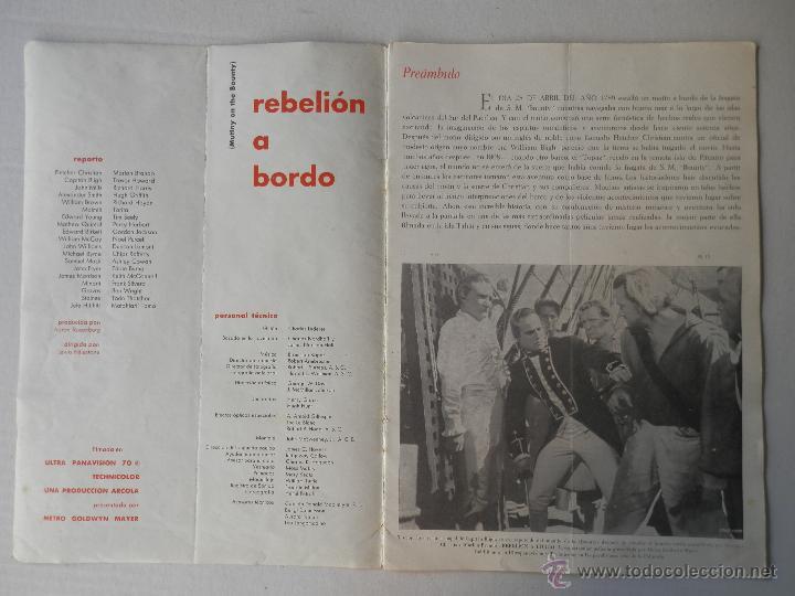 Cine: REBELION A BORDO - GUIA - MARLON BRANDO / RICHARD HARRIS - VER FOTOS ADICIONALES - Foto 2 - 50044876