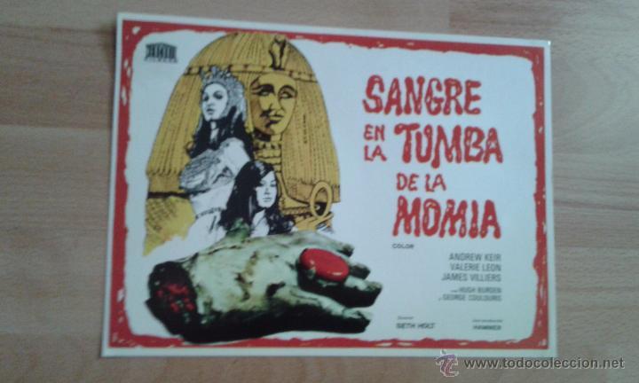 GUIA SIMPLE DE .SANGRE EN LA TUMBA DE LA MOMIA (Cine - Guías Publicitarias de Películas )