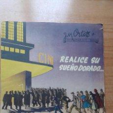 Cine: PRIMERA LISTA DE MATERIAL DE DISTRIBUIDORA LAIS S.LTEMPORADA 1950-51. Lote 50497876